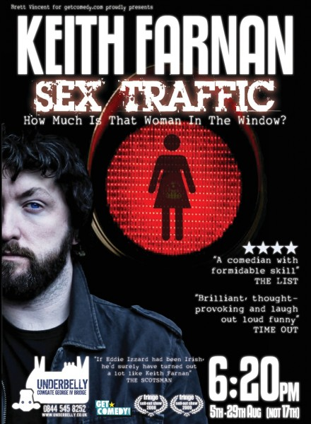 Original Sex Traffic Poster