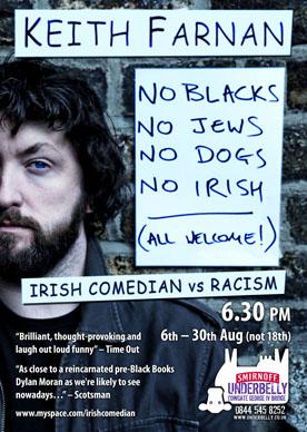 NO BLACKS. NO JEWS. NO DOGS. NO IRISH. ALL WELCOME