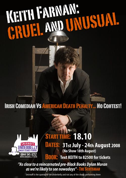 Cruel and Unusual – Comedy versus the Death Penalty