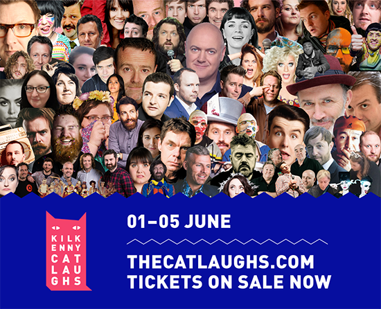 Kilkenny Cat Laughs Festival 3rd June – Kidocracy and other stuff