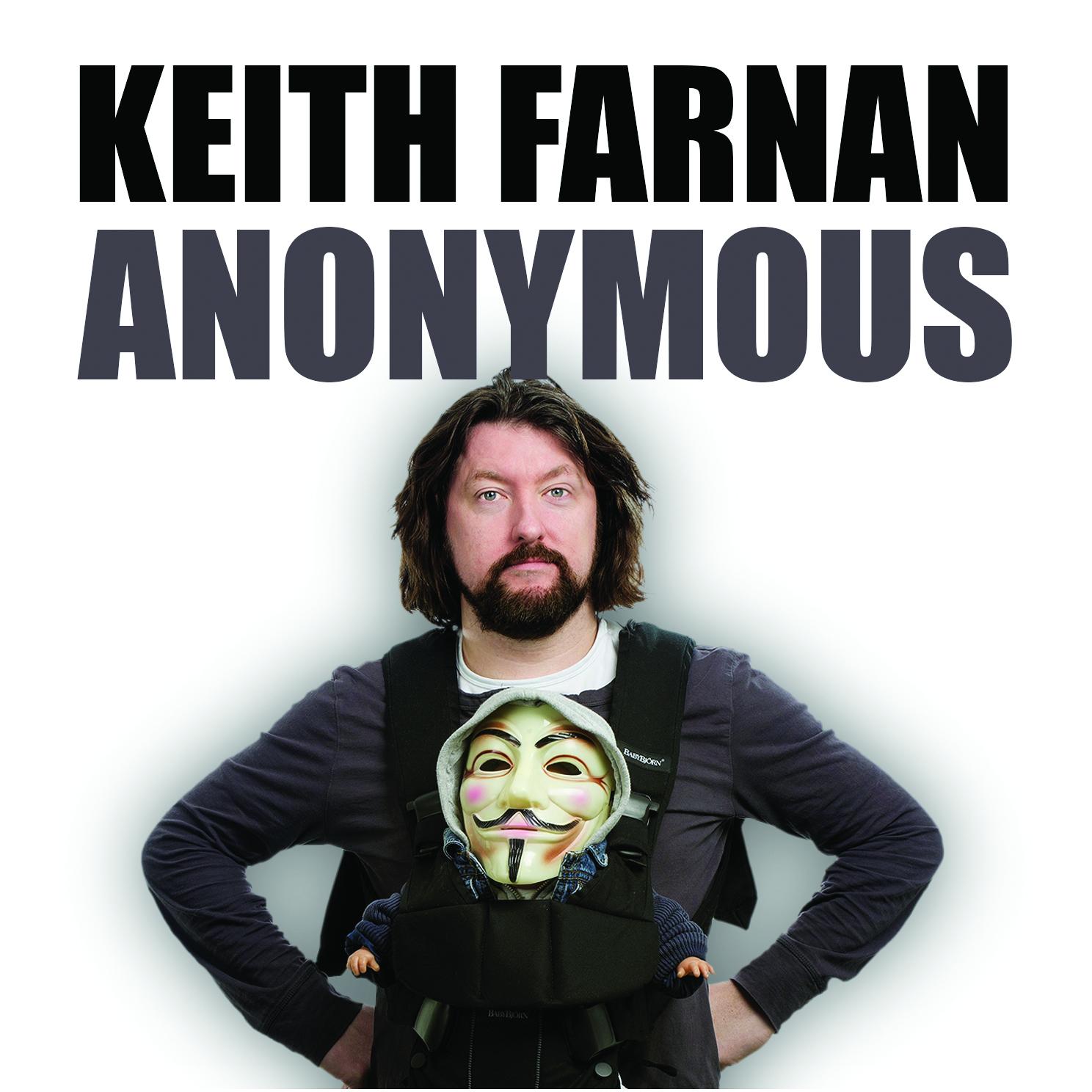 """New comedy album – """"Anonymous"""""""
